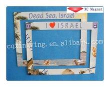 2012 new product acrylic fridge magnet photo frame
