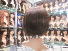Hot POP Fashion short full lace wigs for black women,nature color nature texture