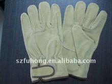 split pig for hard work leather hard work gloves