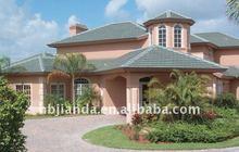 colored asphalt roofing shingle and asphalt roofing tile for slope roof