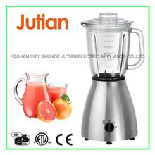 Stainless steel 400W glass jar blender (JT-5018)