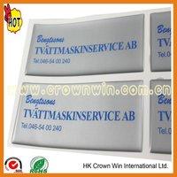 Flexible epoxy resin sticker