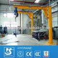 equipo de elevación de toneladas 1 montado en el piso de la grúa pluma