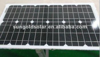 100w solar module 12v monocrystalline