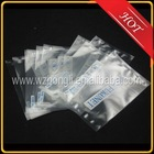 small clear heat seal plastic packaging bag