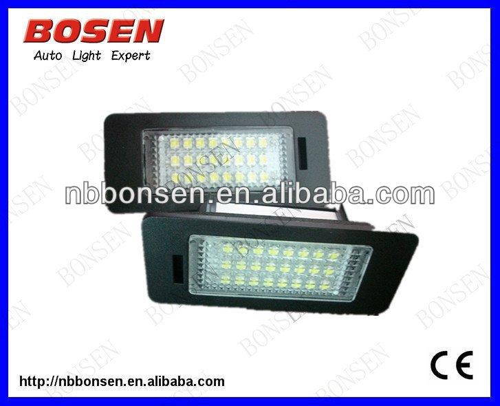 q5 a4 b8 led luce targa