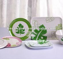 Better home fiber dinner sets, bamboo fiber tableware
