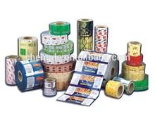 Shrink Sleeve / Bottle labels,plastic packaging film in roll for food ,food packaging film