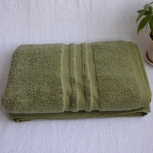 three jacquard border 100%cotton Walmart bath towel