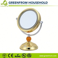 7 inch double side fashion antique standing mirror