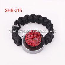 2012 unique design fashion style shamballa ladies rings factory direct sale