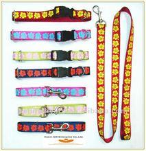 Good quality nylon dog collar& dog lead