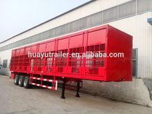 three axle cargo semi trailer