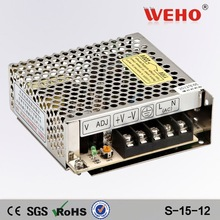 CE ROHS 12v led driver 25w switching power supply dc 12v