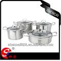 8 pcs açoinoxidável utensíliosdecozinha cozinha panela fogão multi produtos quentes para nova 2014