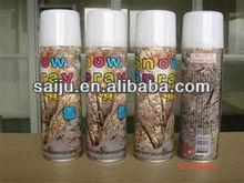 white christmas party foam Snow Spray for 250ml