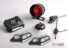 stand alone two way car alarm system with voice reminding
