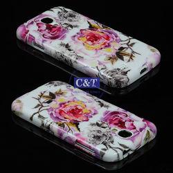 C&T Fashion design Back TPU Case for samsung s4,for samsung s4 case
