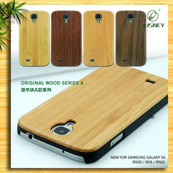 2014 hot selling wood case for s4, phone case for samsung s4 with 3d image, customized case for samsung s4