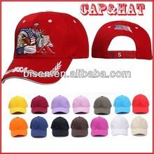 Hot 2015 100% Cotton Promotional Baseball Cap