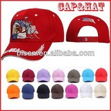 Hot 2015 100% Cotton Promotional Baseball Caps