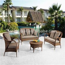 Metal Rattan outdoor furniture jakarta, Poly rattan patio furniture