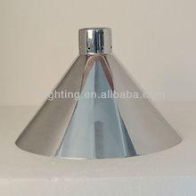 aluminum cone shaped lamp shades modern design