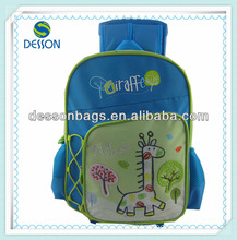 2012 cute school trolley bag/japan school bags/kids trolley bag