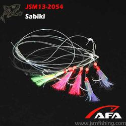 Wholesale Fish skin krystal Flasher Sabiki Rig Fishing Tackle