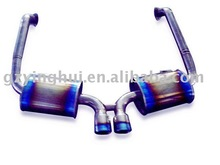 Full Titanium Exhaust Muffler for Porsche