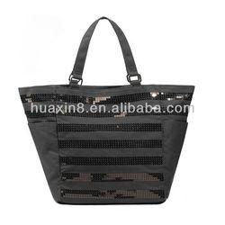 HX081623 Cotton Canvas Beach bag