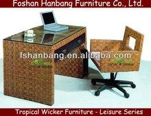 Modern Hotel Bedroom Desk and Chair Set
