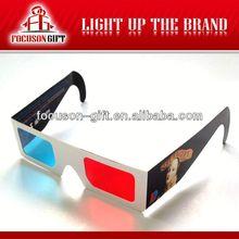 Promotional colorful 3d glasses manufacturer