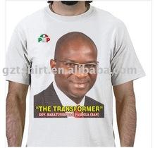 Election campaign promotional t shirt