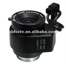 Varifocal 3.5-8mm auto iris cctv camera lens