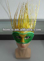 hot selling soccer mask/party attractive mask fo 2014 Brazil Wolrd Cup football fans