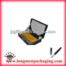 2013 best newest High class leather pen box boxing pen