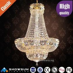 Hot Sale European Style Golden Crystal Chandelier