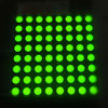60.2*60.2mm green led dot matrix 8*8