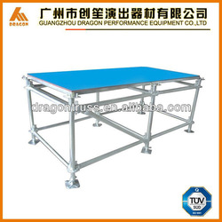 portable aluminum stage for dance performance