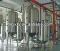 Suco, leite& ketchup concentrador/evaporador para o leite, concentração de suco e evaporação