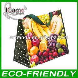 Hot selling_ pp woven shopping bag/bopp laminated pp woven bag