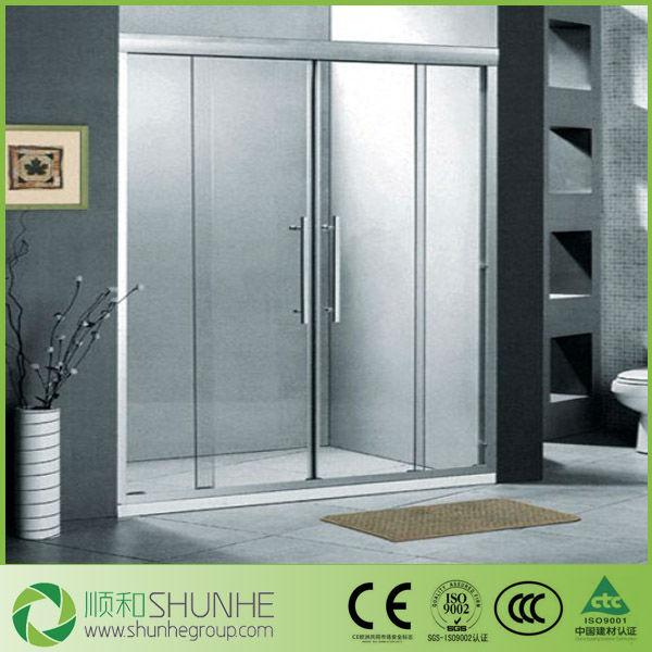 sound water bullet proof bathroom shower cabinet showroom glass door
