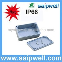 IP65 waterproof aluminum box case,aluminum junction box 120*80*55mm
