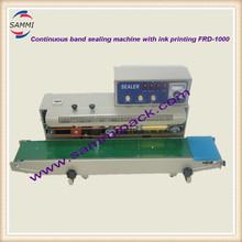 Digital control horizontal solid ink band plastic bag ,PP ,PVC,POF fim sealer