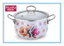 Nonstick Sauce pot and sauce pan set/porcelain cookware pots/2014 kitchen set enamel cast iron cookware sets ceramic pot