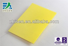 Produce customized for waterproof color cardboard sheet