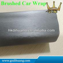 Factory price brushed silver color car vinyl film