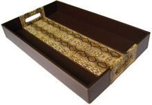 Gorgeous Leather File Tray Desk Tray