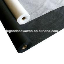 Non woven fabrics,1050HF,50GSM+15GSM,fusible interlinings,polyester non woven